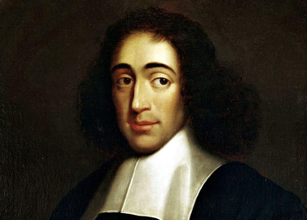 ethics community - Portrait of Spinoza